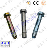 Ancoraggi del manicotto del acciaio al carbonio galvanizzato/acciaio inossidabile con la noce e la rondella