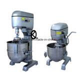 Misturador 30L planetário elétrico resistente comercial do misturador de massa de pão do alimento