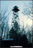 Legged Gegalvaniseerde Toren van Wacht vier