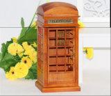 Деревянное украшение искусствоа индикации кораблей искусствоа коробки нот телефона