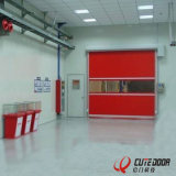 Китай поставщиков ПВХ Высокоскоростной затвор двери быстрое определение двери