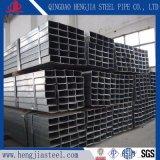Q235 Tube en acier galvanisé pour bâtiment rectangulaire de matériau