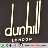 Customed populäre im Freien LED belichtete Edelstahl-an der Wand befestigte Zeichen-Zeichen