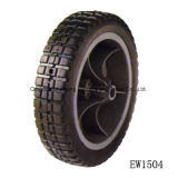 High Quality Solid Wheel with Plastic or Metal (SR1106)