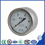 100mm China Medidor de pressão da cápsula de alta qualidade