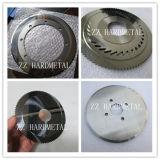 Cortador de disco de carboneto de tungstênio Disco de carburo em branco redondo de carboneto de tungstênio