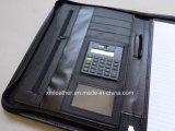 Unità di elaborazione Leather Bound Zip Briefcase per Men