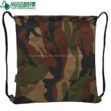 Zakken van de Rugzakken Drawstring van de Sport van de Reis van de Stijl van de Stof van de camouflage de Militaire Goedkope