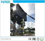 Visualización de LED fija delantera al aire libre de la instalación del servicio P10mm de la venta caliente