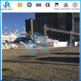 Sistema de aluminio del braguero de la azotea con la etapa portable para los acontecimientos