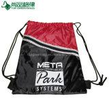 かわいいドローストリングのバックパック袋のジッパーが付いているかわいいドローストリングのバックパック袋