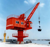 Teleskopischer hydraulischer Marineportkran
