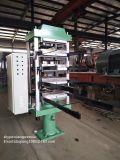 máquina para fabricação de tijolos de borracha do piso/Máquina de vulcanização/Linha de Reciclagem de Pneus