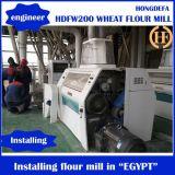 200t/24hrムギの製粉機械