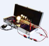 Caso de demostración del LED para la eficiencia Lux, CCT, PF etc.