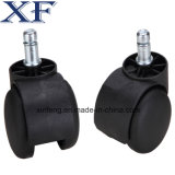 2 polegadas Furniture Nylon Caster Wheel com Threaded Stem&Brake