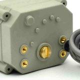 vávula de bola motorizada eléctrica del actuador 24VDC sin la invalidación manual