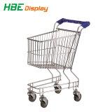 Carrelli di acquisto dei capretti per il supermercato