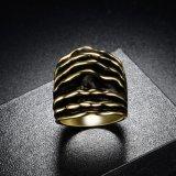 18K de echte Gouden Fabrikant van de Prijs van de Trouwring van Saudi-Arabië van Juwelen Gouden van China