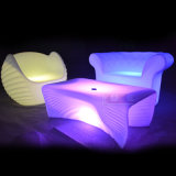 Hotel BarのためのカラーLED ChairおよびTable LED Furniture