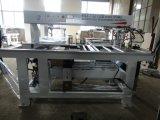 機械装置の木製の鋭い機械を退屈させる木製のドリル機械2ライン