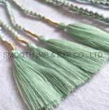 Venda por grosso de acessórios de moda Cortina decorativas Garment Pendão Têxteis da Correia