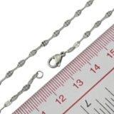 Catena di modo dei monili della catena della catena della corda dell'acciaio inossidabile