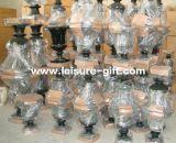Potenciômetro de flor envernizado Wedding da fibra de vidro (FO-207)