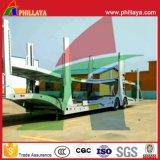 2 Eixos 8 carros semi reboque do veículo de transporte do transportador