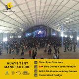 tente en aluminium d'usager de polygone énorme de 50X80m pour le concert de musique (hy006)