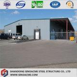 鉄の商業鉄骨フレームの倉庫か小屋の研修会