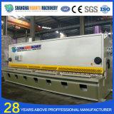 QC11y CNC-hydraulische Stahlplatten-Guillotine-Maschine