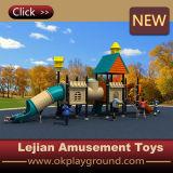 Apparatuur van de Speelplaats van de Gunst van de Jonge geitjes van Ce de Openlucht Plastic (x1509-8)