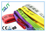 2017 de Nieuwe Kleurencode van 3 van de Ton van de Polyester Slingers van de Singelband Van Geel voor het Geselen