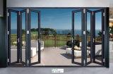 L'épaisseur de matériau de construction 1.2-2.0/Porte coulissante de porte en aluminium/aluminium porte en alliage/Porte pliante