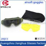 Gafas militares de mejor precio con su logotipo Gafas de seguridad de visión nocturna sin marco