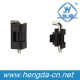 Charnière électrique industrielle en alliage de zinc enduite de cadre de la poudre Yh9309 noire