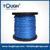 6mm starkes Kevlar-umsponnenes Seil-synthetisches Handkurbel-Seil des Seil-7000lbs