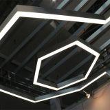Diseño modular Linear LED lámpara con ajustar el ángulo
