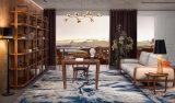 2017 новых софа грецкого ореха 1+2+3 прибытия американских кожаный для дома (HC6603)