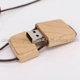 USB Flash Drive collar de madera (UL-W014)