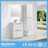 Kundenspezifischer heißer Verkaufs-moderner Fußboden und an der Wand befestigte Badezimmer-Möbel