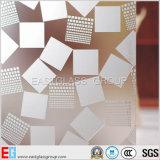 Стекло заморозка, кисловочное травленое стекло, неясное стекло (EGFG003)
