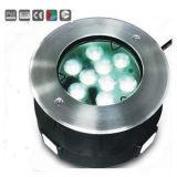 lámpara subacuática de la piscina de 18W RGB LED
