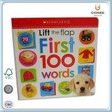 Livro de capa dura educacional para crianças de alta qualidade