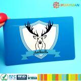 Proteção RFID do cartão de crédito que obstrui o cartão