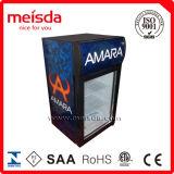 Showcase mais fresco, refrigerador de vidro do indicador da porta