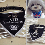 Customized Logo Triangle Wholesale Dog Bandana pour cadeau promotionnel