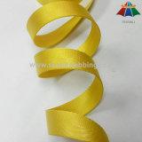 25 mm-gelbes Herringbone Nylongewebtes material