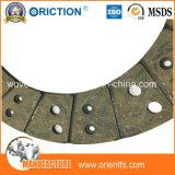 El buen desempeño de fricción del disco de embrague material de revestimiento
